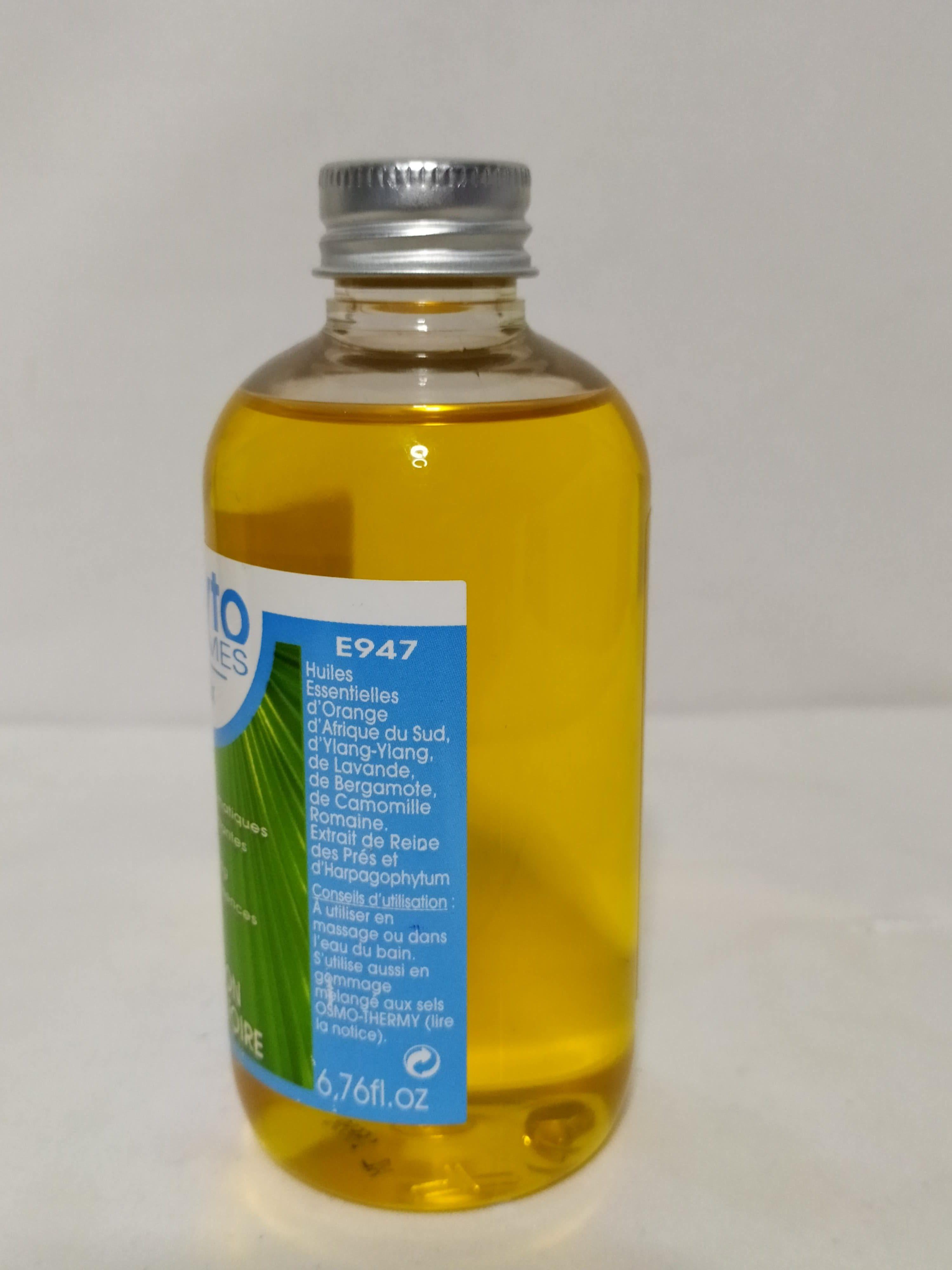 OSMO SENS - Soins Spa à domicile-huile de bain décontractante