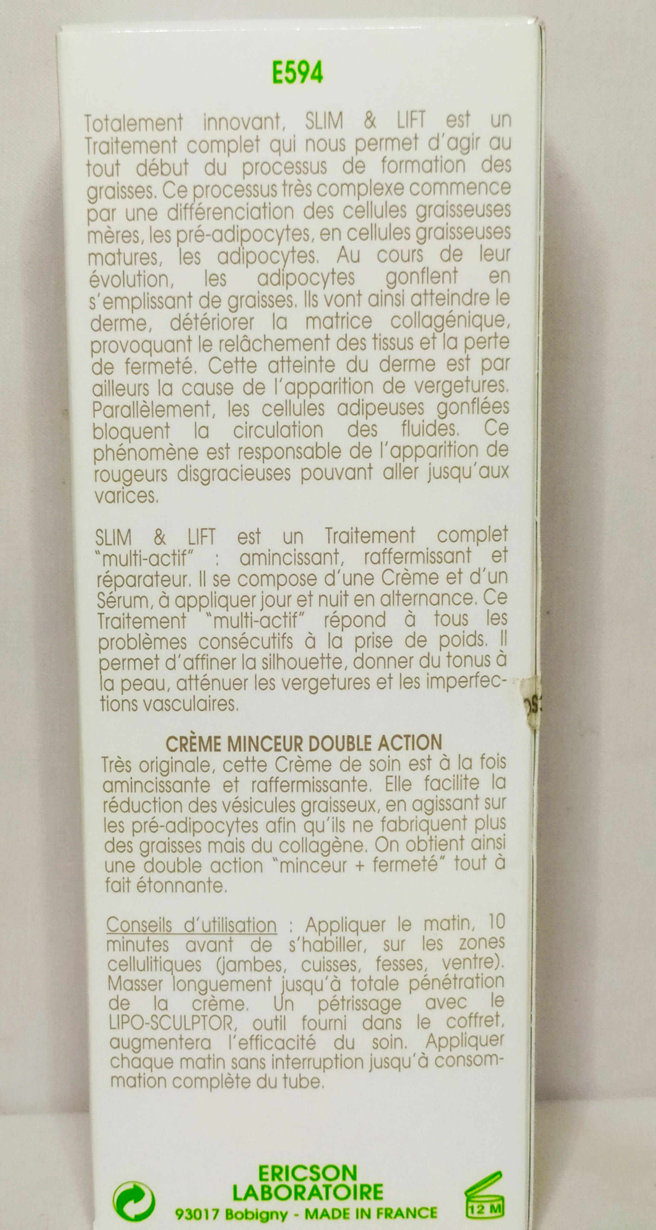 SLIM & LIFT - DUO MINCEUR