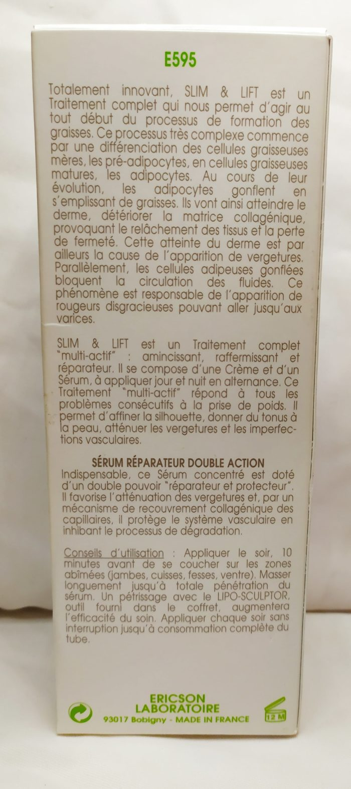 SLIM & LIFT -SERUM MINCEUR