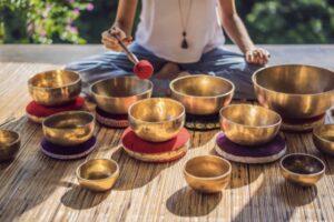 Bols tibétains modelage bols chantant rochefort