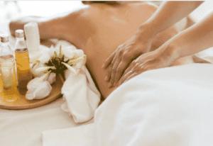 Massage dos modelage dos relaxant mal de dos