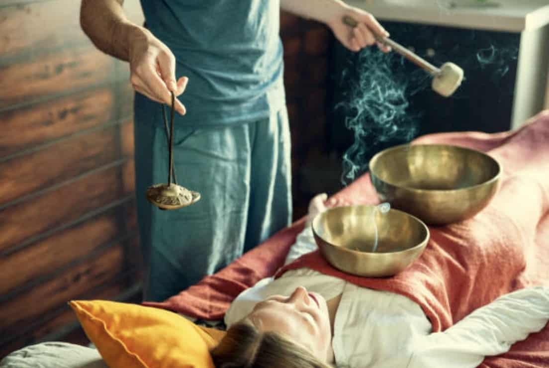 Modelage bols tibétains massage relaxant rochefort
